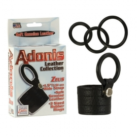 Сбруя ADONIS ZEUS LEATHER COCKRING