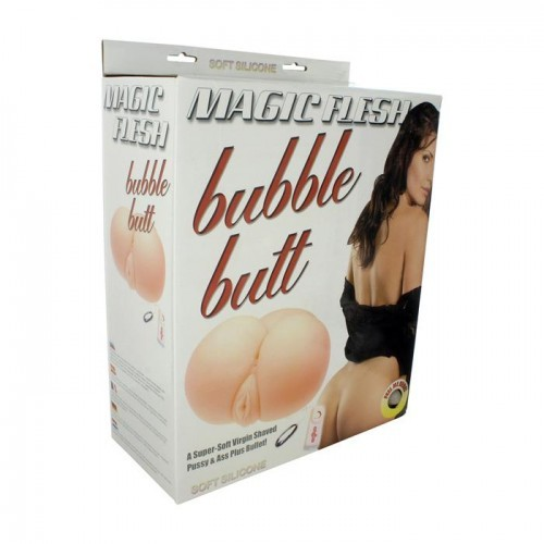 Вагина и анус с вибрацией Bubble Butt