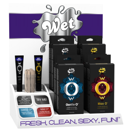 Дисплей Wet wOw, Gentle, Max с тестером